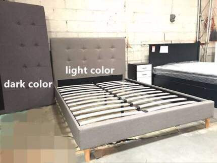 Brand new fabric bed frame double/queen