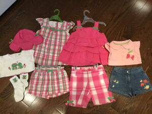 Gymboree Frog collection 4 years 9 items for $40