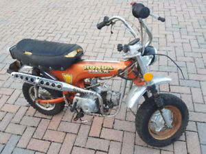 1973 HONDA CT70 MINI BIKE