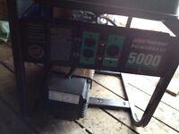 5000 WATT COLEMAN 10 HP GENERATOR
