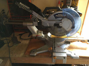 Mastercraft Sliding Mitre Saw with Laser, 12-in
