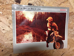 Honda fat cat trail,70, 110, z50r brochure