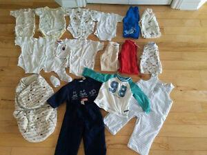 vêtement bébé garçon 0-9 mois