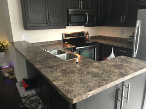 Kitchen overmount sink and faucet for sale