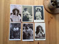 Set of 12 vintage movie star postcards