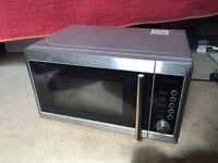 Broken microwave for repair/scrap