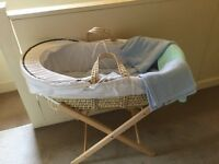 Moses basket and sleep accessories