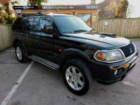 MITSUBISHI SHOGUN SPORT 2.5TD WARRIOR IN BLACK