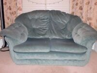 2 x two-seater sofas and and arm chair for sale (IoW)