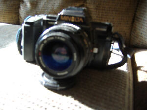Camera Equipment ( is a SLR film camera not  digital) for sale