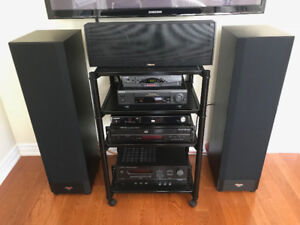 High End Complete Klipsch Home Theater Surround Sound System