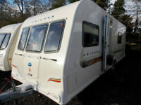 Bailey Unicorn Valencia 2011 4 Berth Fixed Bed Touring Caravan With MotorMover
