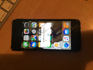 APPLE IPHONE 5S 16GB WORKING CONDITION SHATTERED SCREEN