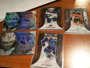 5 platinum profiles hockey cards