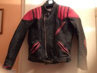 Bikers kids leather jacket