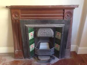 Cast iron fireplace with mantle Burwood Heights Burwood Area Preview