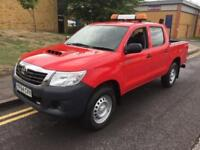 2014 Toyota Hilux 2.5 D-4D Active Double Cab Pickup 4WD 4dr Manual Pickup