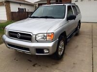 2003 Nissan Pathfinder Chilkoot Edition 124km!! + Winter Tires!!