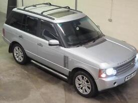 Land Rover Range Rover 3.6TD V8 VOGUE AUTO in SILVER FULL LAND ROVER HISTORY