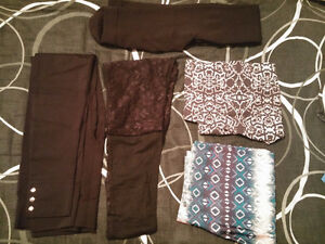 Bag of Leggings, Pants & Capris Small- Med $10