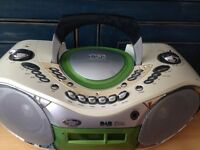 Goodmans DAB radio with cd and cassette player