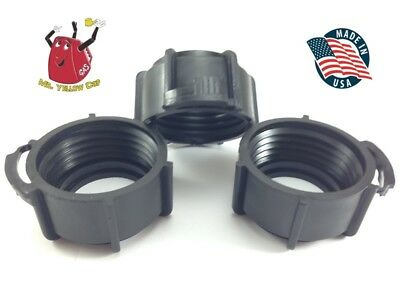 3 - Blitz Gas Can Black Nozzle Spout Retaining Rings Replacement Vintage - New