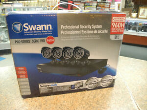 Swann 8 Channel 960H Security System with 1TB HDD and 4 Cameras