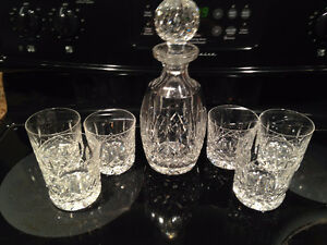 ensemble carafe et verre cristal waterford
