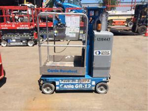 2011 Genie Mobile Vertical Lift GR-12