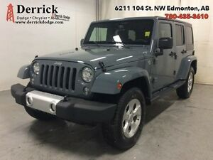 2015 Jeep Wrangler Unlimited   Used 4Dr 4WD Sahara Low Milge Nav