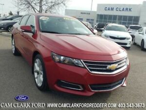 2015 Chevrolet Impala LT w/2LT  Leather Heated Seats With Suede