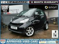 2010 smart fortwo 1.0 MHD Pulse 2dr Coupe Petrol Automatic