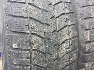 215/65R16 Rims with Blizzack tires London Ontario image 3
