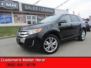 2014 Ford Edge Limited   PANROOF, MEMORY SEATS, NAV, CAM!