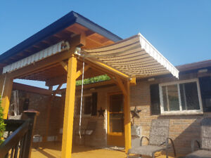 2 Retractable Awnings  1-10ft &  1-8ft