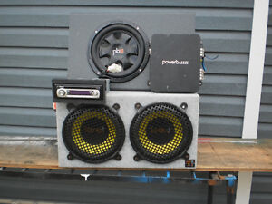 Power Bass Stereo System with Booster