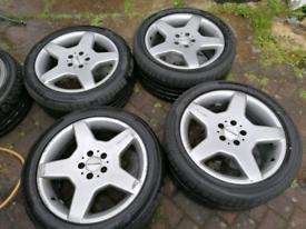 Mercedes AMG alloys wheels