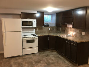 Newly renovated basement suite - $800 utilities included!