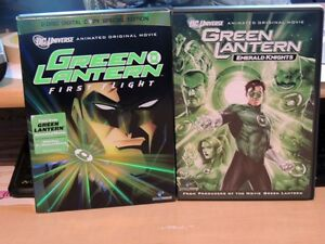 2 different Green Lantern animated movies $15 for both!