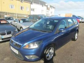 2009 Ford Focus Estate 1.6 100 Zetec Petrol blue Manual