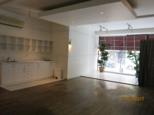 Beautiful commercial space available immediatly