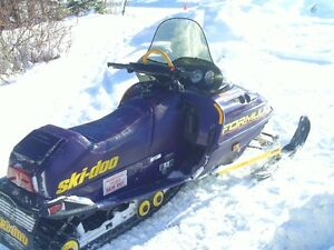 for sale a formula screamer snowobile in excellent condition