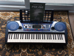 Yamaha PSR-260 in New Condition
