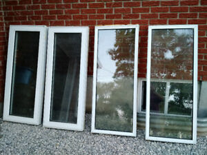 Windows double glazed casement and fixed