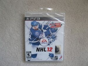 Playstation 3 NHL 12 Game (Brand New!)