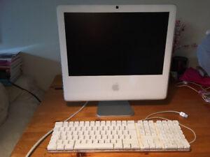 iMac G5 17 pouces en bon état avec clavier à vendre pas cher!