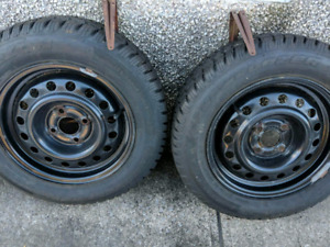 Winter tires / Pneus d'hiver