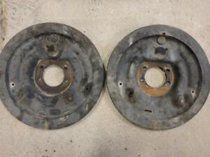 Dodge brake backing plates