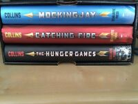 Hunger Games Trilogy Books Set