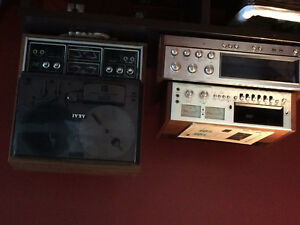 old stereo equipment
